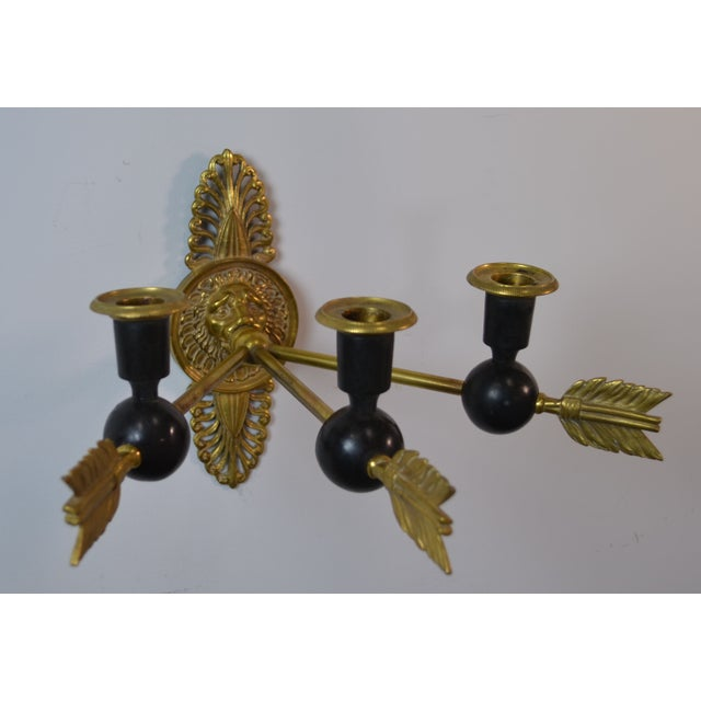 Image of 19th Century Directoire Candle Sconces - A Pair