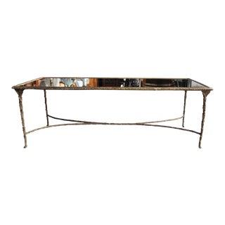 Maison Bagues Style Bronze Cocktail Table