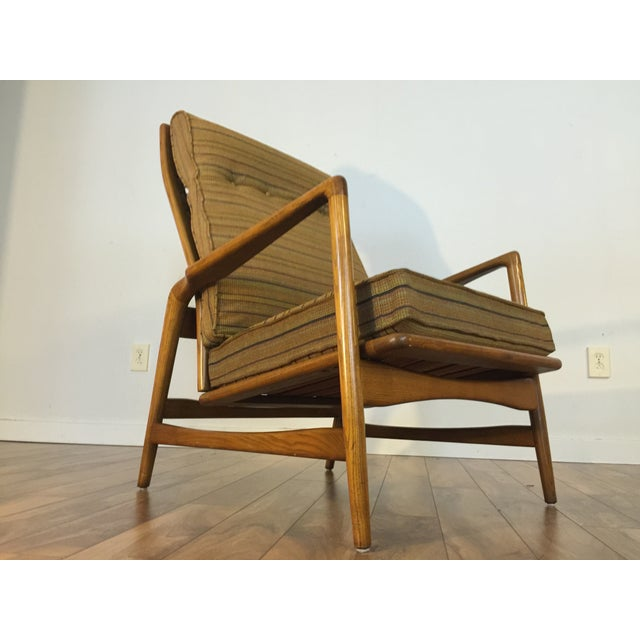Mid-Century Adjustable High Back Lounge Chair - Image 6 of 11