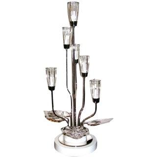 Sculptural Lily Pad DecoTable Lamp