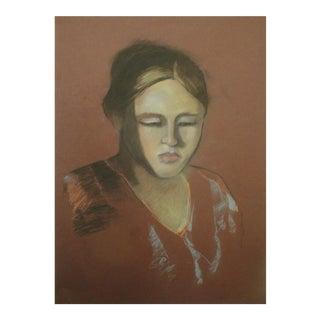 """""""Elizabeth"""" Pastel Portrait"""