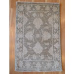 Image of Hand-Knotted Oushak Rug - 2' x 3