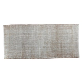 "Distressed Oushak Rug - 2'4"" X 5'"