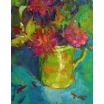 Image of Brigitte Woosley Bold Floral Still Life Painting