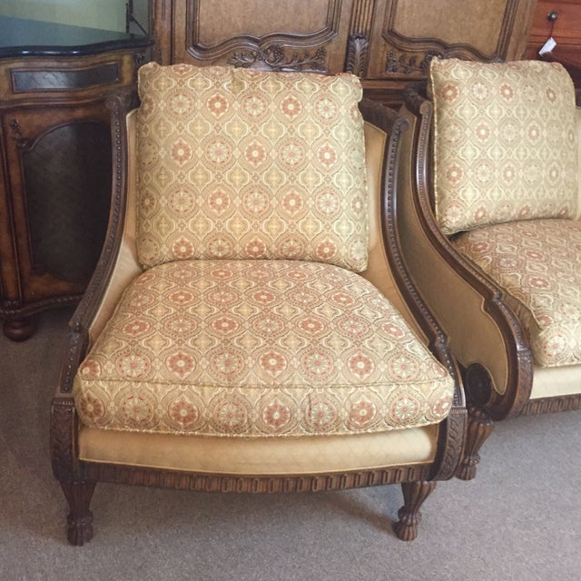 Pair of Century Occasional Chairs - Image 8 of 11