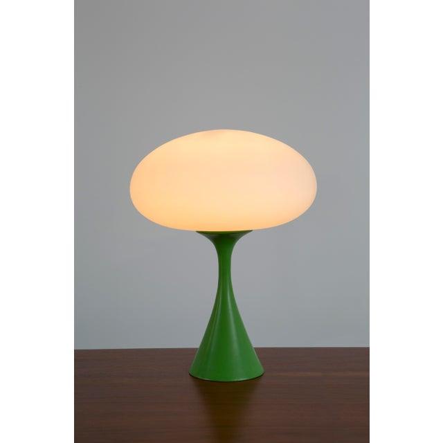 Image of Rare Green Laurel Mushroom Lamp