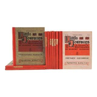 Elbert Hubbard's Homes of Reformers Books - Set of 10