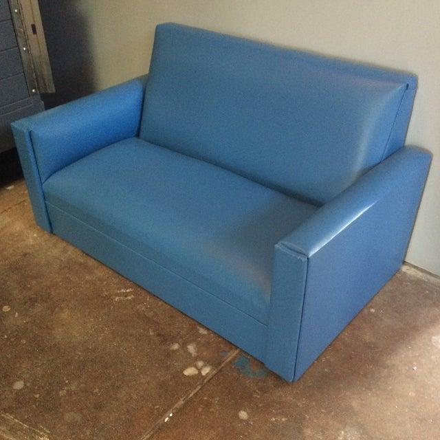 Mid-Century Mini Love Seat - Image 4 of 5
