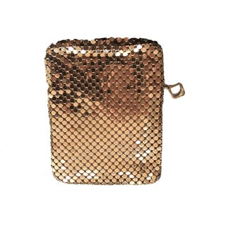 Whiting & Davis Gold Mesh Cigarette Holder