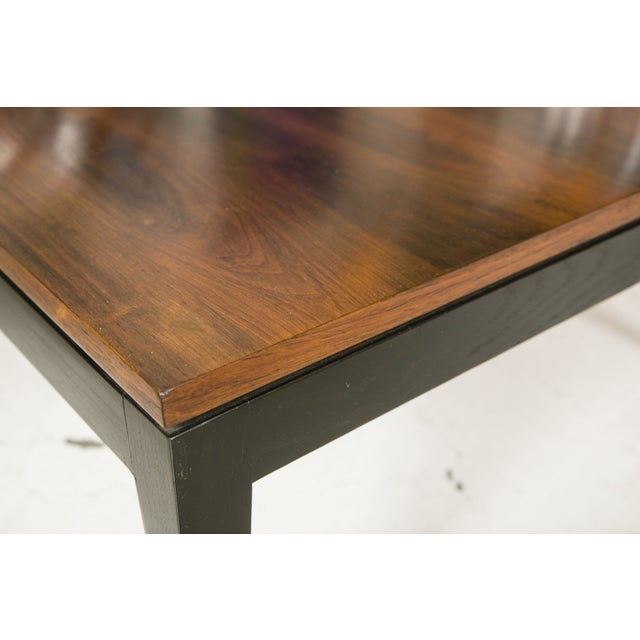 1960s Rosewood Ebonized Cocktail or Coffee Table - Image 4 of 6