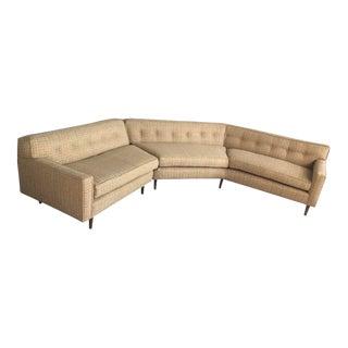 Mid-Century Modern Restored Sectional Sofa