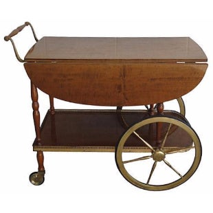 De Baggis Italian Bar Cart