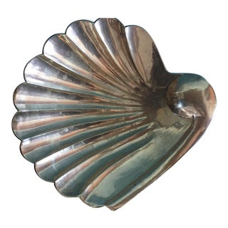 Brass Seashell Decorative Bowl