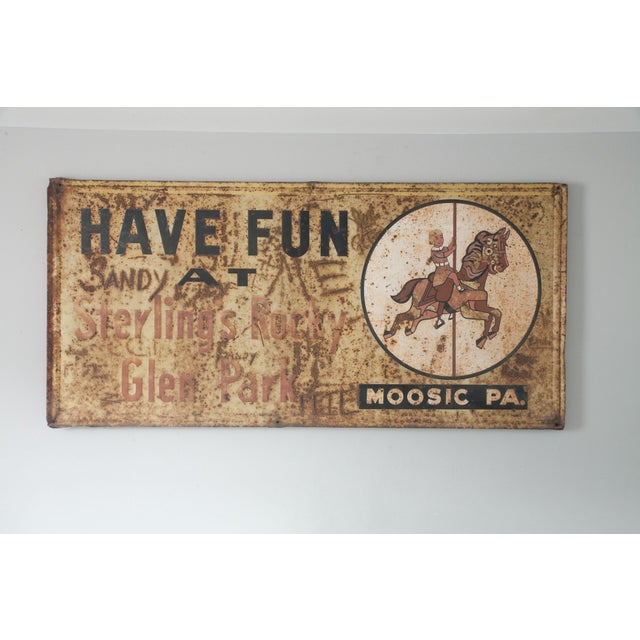 Have Fun At Sterling's Rocky Vintage Metal Sign - Image 2 of 4