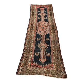 """Vintage Persian Wool Rug - 3'6"""" X 9'8"""""""