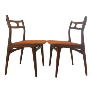Johannes Andersen Rosewood Dining Chairs - A Pair