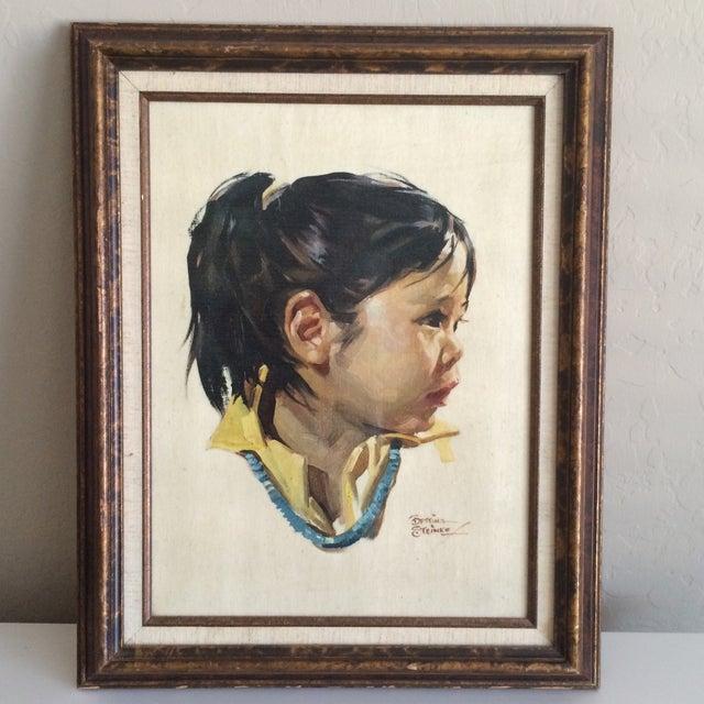 Image of Bettina Steinke Portrait Painting
