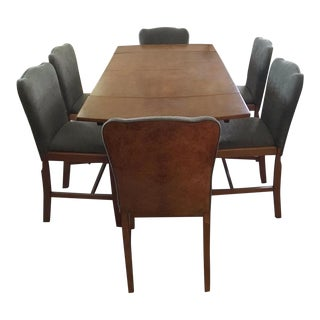 Art Deco Dining Set - Set of 7