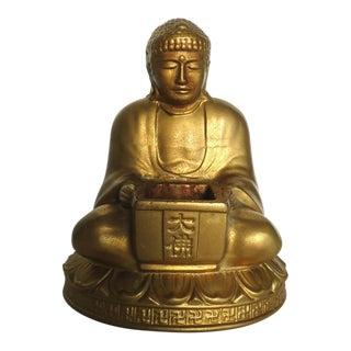 Vintage Buddha Incense Burner