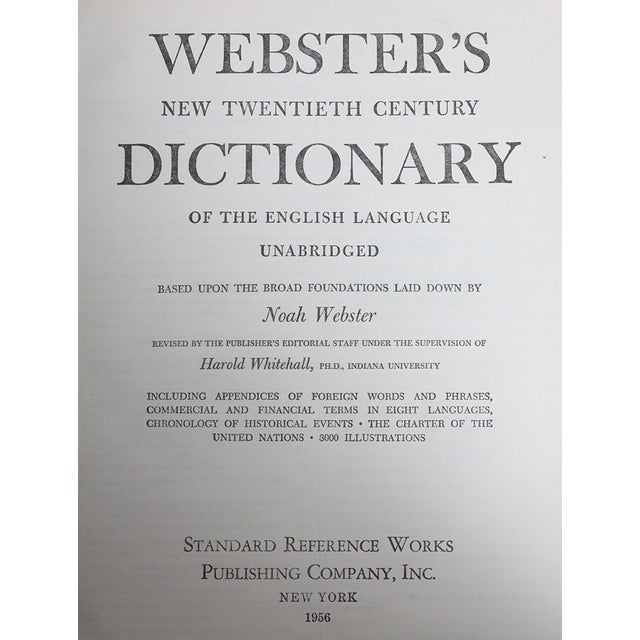 Image of 'Webster's New 20th Century Dictionary'