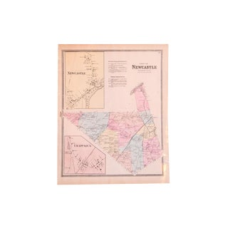 Antique Map of North Castle & Chappaqua New York