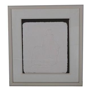 R.C. Gorman Paper Sculpture