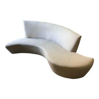 Vladimir Kagan Bilbao Gray Sofa