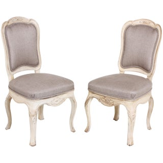 Swedish Baroque Side Chairs - A Pair