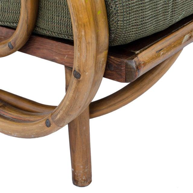 Mid-Century Rattan Sectional Sofa - Image 7 of 11