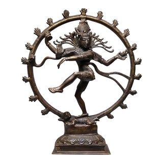 Mid-Century Bronze Shiva the Destroyer Figure