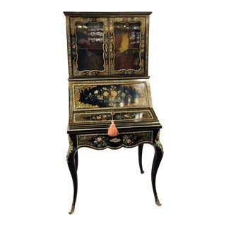19th Century French Bonheur Du Jour Writing Desk
