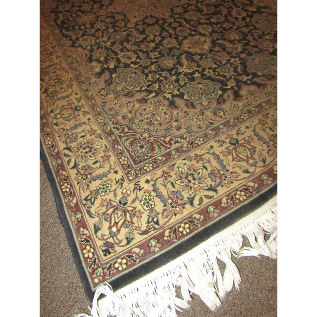 Oriental Blue Mauve & Brown Rug - Image 5 of 5