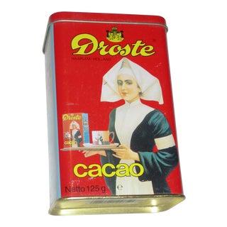 Colorful Dutch Cocoa Tin