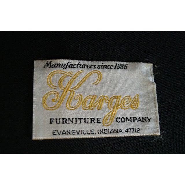 Image of Karges Parler Deux Regency Wing Chairs - A Pair
