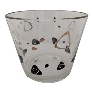 Amoeba Federal Glass Ice Bucket