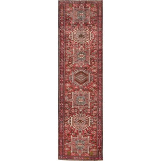 "Apadana Vintage Persian Heriz Runner - 2'6"" x 9'3"""