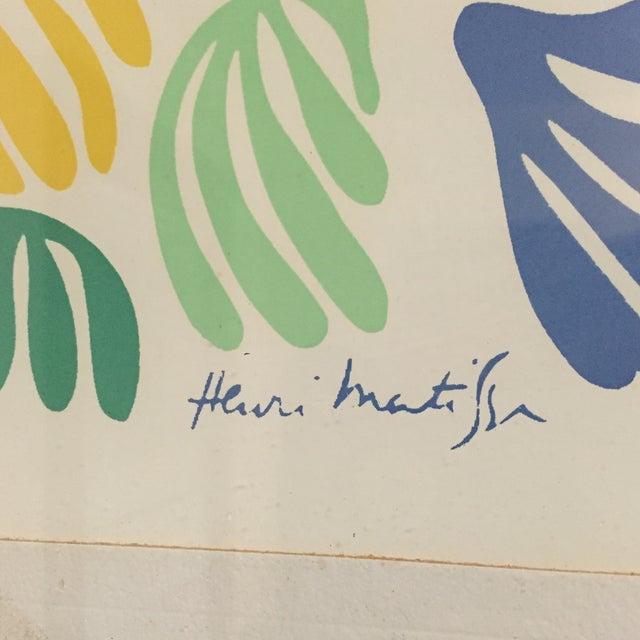 Henri Mattise Framed Lithograph - Image 5 of 6