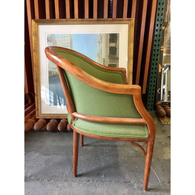 Green Corduroy & Bent Wood Chair - Image 4 of 8