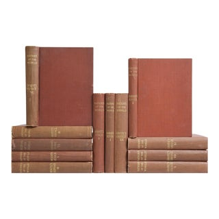 'Antique History Reference: Nations of the World' Books - Set of 12