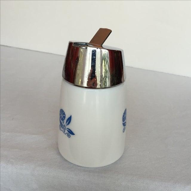 Milk Glass Sugar Dispenser - Image 8 of 11
