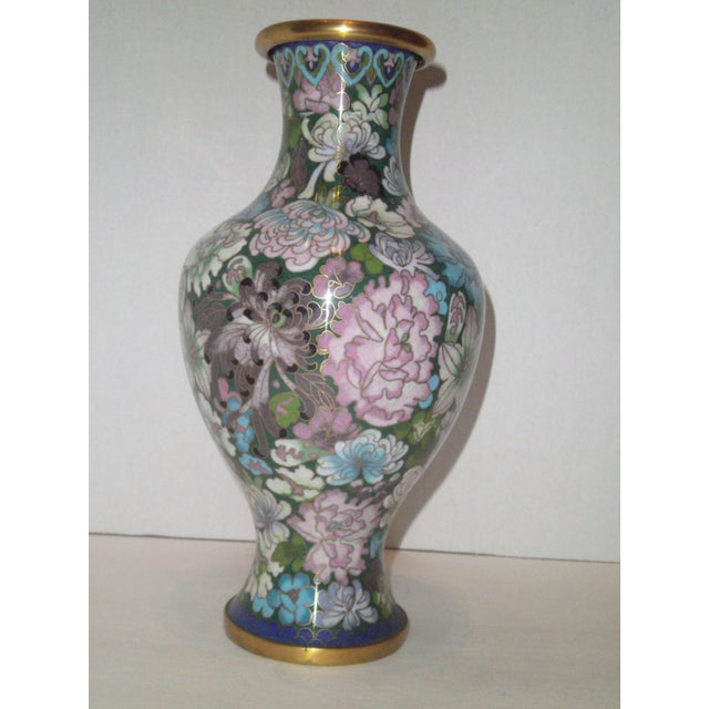 Large Cloisonne Vase - Image 3 of 7