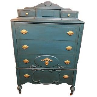 Antique 6-Drawer Vanity Dresser