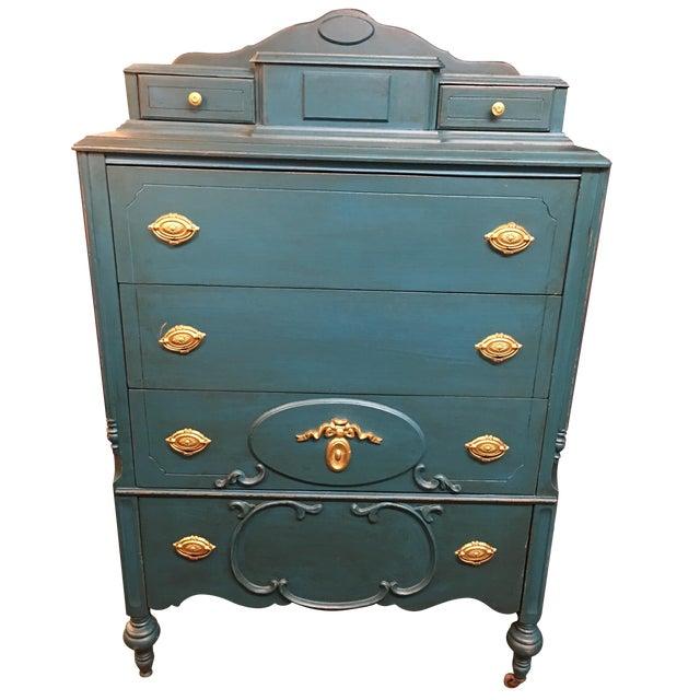 Antique 6 Drawer Vanity Dresser Chairish