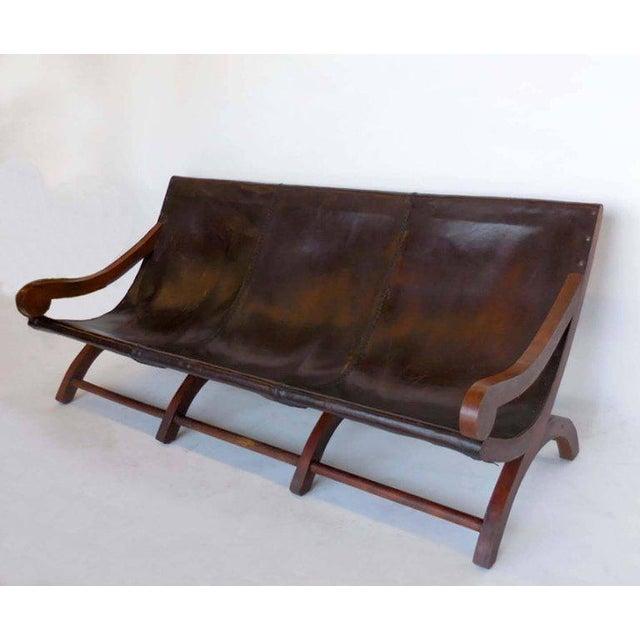 Leather Butaca Sofas - Image 9 of 9