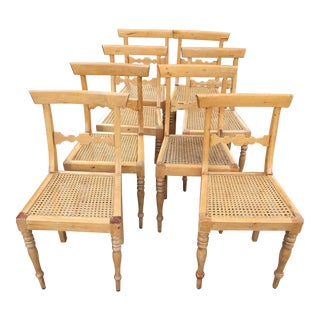 1840's Swedish Chairs - Set of 8