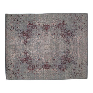 Leon Banilivi Silk & Wool Modern Rug - 8′1″ × 10′2″