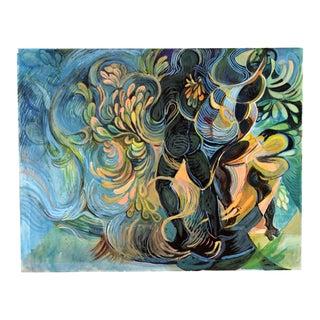 Dark Figures & Foliage by R. Lohman