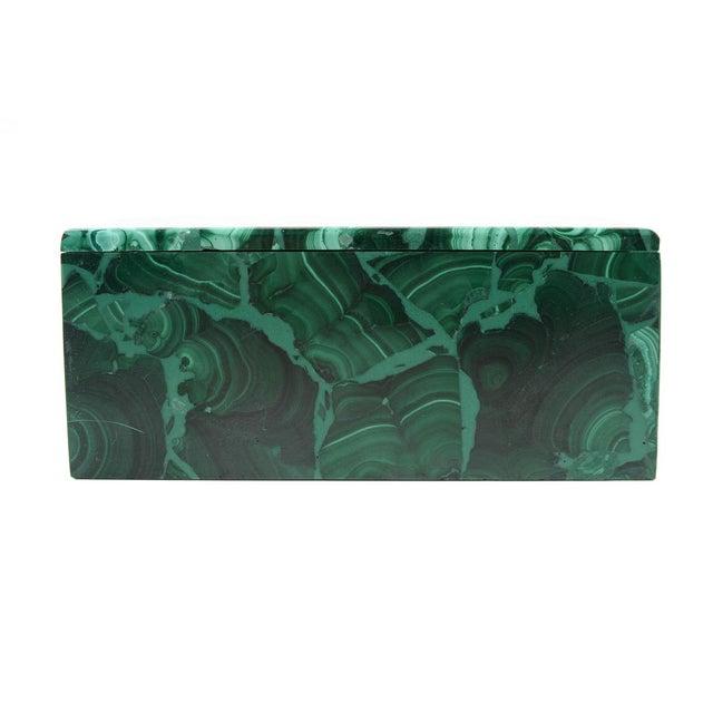 Malachite Antique Lidded Box - Image 2 of 9