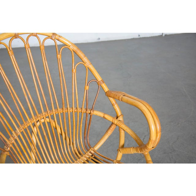 Rohe Noordwolde Bamboo Hoop Chair With Arms - Image 7 of 10