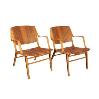 Danish Ax Chair by Hvidt & Mølgaard - Pair